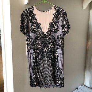 Express patterned dress